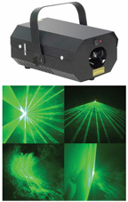 Laser lighting effect